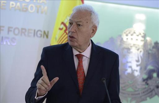 """García-Margallo dice que la presencia de Palestina en el Vaticano """"es histórica"""""""
