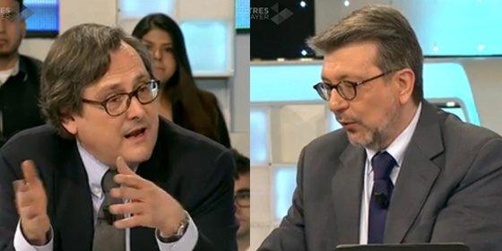 """Paco Marhuenda se pone de los nervios con Ignacio Camacho y su análisis del CIS: """"Lo que estás diciendo es una chorrada"""""""