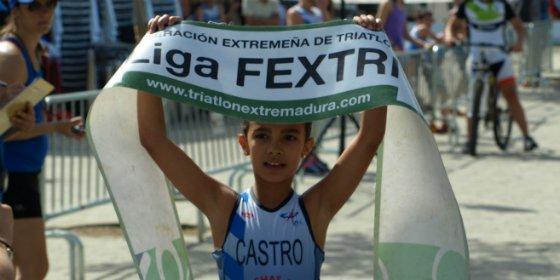 7 podiums para el CAPEX en el II Acuatlon de Navalmoral de la Mata