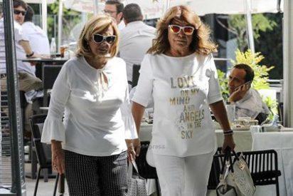María Teresa Campos sale a comer sin Bigote Arrocet