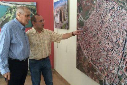 La Casa de Cultura acoge una exposición de fotografías aéreas de Don Benito