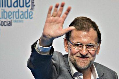 """Mariano Rajoy tras ser interrumpido tres veces por alborotadores de la PAH: """"Al final no pasa nada"""""""
