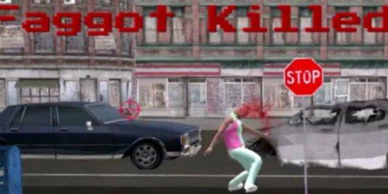 El vídeo del escabroso juego 'Matar al maricón' que ha sido retirado del mercado por homófobo