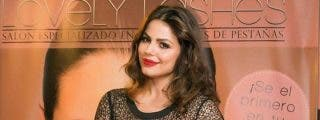 La modelo Marisa Jara imagen de Lovely Lashes