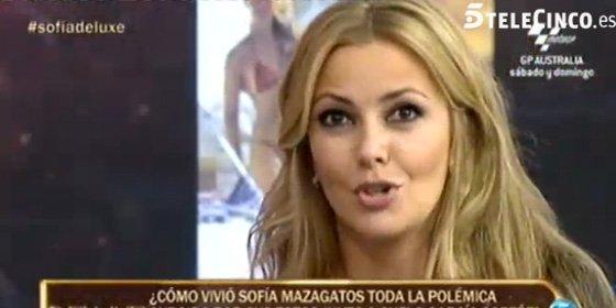 Sofía Mazagatos será madre soltera a sus flamantes 40 años