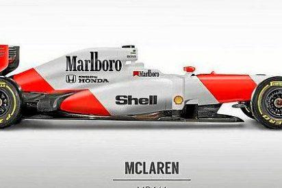 El McLaren de Alonso lucirá nuevos colores en Montmeló