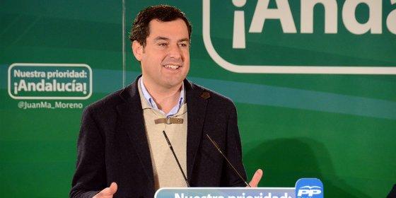 """Moreno advierte a Díaz que no va a permitir """"chantajes a los andaluces por su incapacidad de generar mayorías"""""""