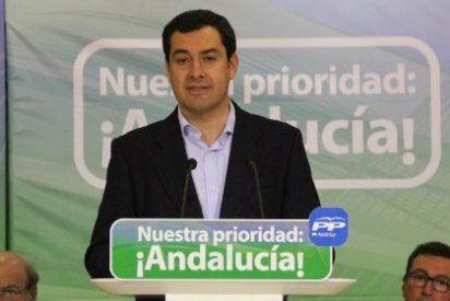 """Moreno dice que el PP andaluz """"ha mantenido el tipo en los peores momentos"""" y anuncia cambios para ganar cercanía"""