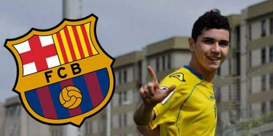 El Barcelona se lo lleva de Las Palmas