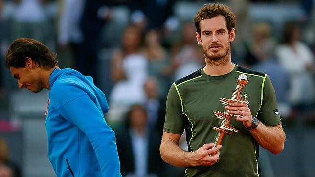 """Murray sobre su victoria en el Mutua Madrid Open: """"Nadal ha cometido más errores de los que suele cometer"""""""