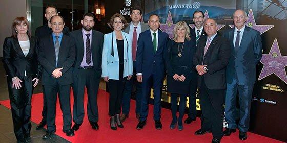 La Gala de Turismo de Navarra 2015 reconoce la labor del sector