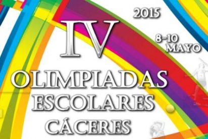 Más de 2.500 deportistas participarán en las IV Olimpiadas Escolares en Cáceres