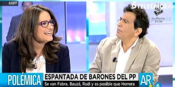 """Arcadi machaca a Mónica Oltra: """"¿Ve la lengua suelta que tiene? Su demagogia le volverá como un bumerán"""""""