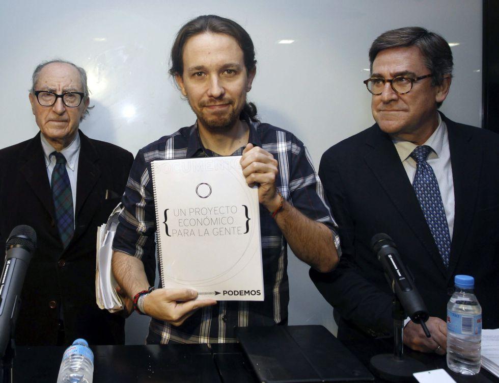 Juan Torres, el economista estrella de Podemos, resulta que apoya a Izquierda Unida