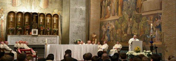 """El Papa califica a Fray Junípero de """"testimonio de santidad en Estados Unidos"""""""