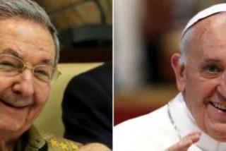 Raúl Castro visita este domingo al Papa Francisco
