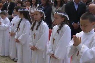 En españa se celebran 245.000 primeras comuniones al año