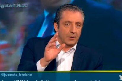 """Pedrerol se indigna con los """"dos jugadores importantes"""" del Madrid que no quieren a Rafa Benítez: """"Que levanten la mano y a su casa"""""""