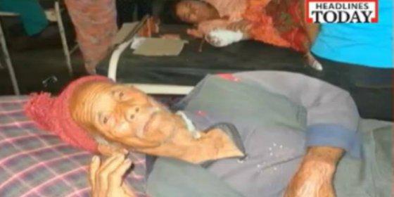 Este anciano de 105 años estuvo una semana enterrado vivo por el terremoto