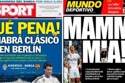"""La prensa culé hace sangre y habla del """"trifracaso"""" del Madrid: ni Liga, ni Copa ni Champions"""