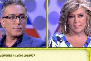 Kiko Hernández hace historia en 'Sálvame' y se somete por primera vez al polígrafo para desgracia de Lydia Lozano