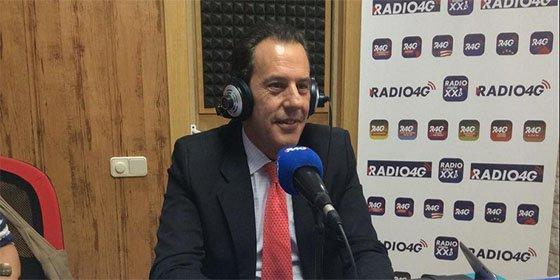 """Rafael Merino (PP): """"El PSOE le está haciendo el trabajo a Podemos, y yo veo una enorme preocupación de Susana Díaz"""""""