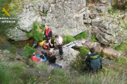 Guardia Civil rescata a cinco personas durante el pasado fin de semana en la provincia de Cáceres
