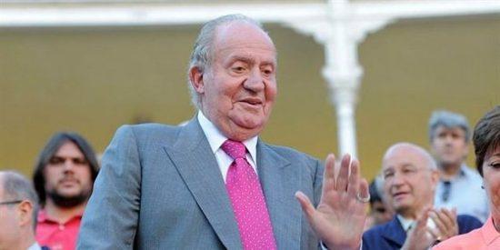 El Rey Juan Carlos en la Corrida de la Prensa