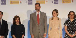 Felipe VI y Letizia, presiden la entrega de los Premios Internacionales de Periodismo y Don Quijote