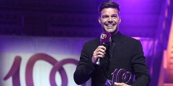 Ricky Martin en los Premios cadena 100