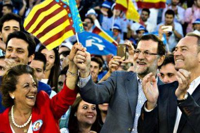 Mariano Rajoy 'revienta' la plaza de toros de Valencia