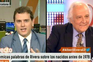 """Raúl del Pozo aprieta Rivera por poner solo a candidatos jóvenes: """"¿Quiere a todos los políticos como el Pequeño Nicolás?"""""""
