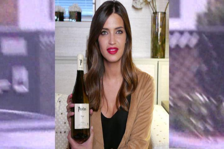 Sara Carbonero embajadora de vinos