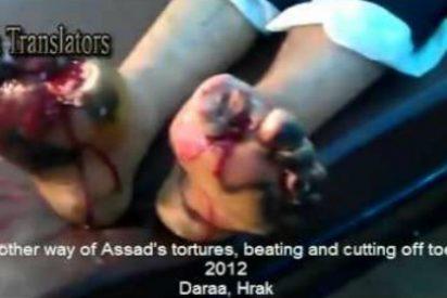 [Vídeo] El macabro recorrido por la cámara de tortura del régimen de Bashar al Assad
