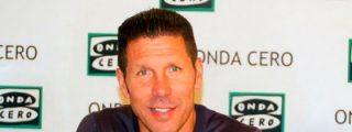 "Simeone defiende a Ancelotti: ""Me da bronca que no se valore lo que ha ganado"""