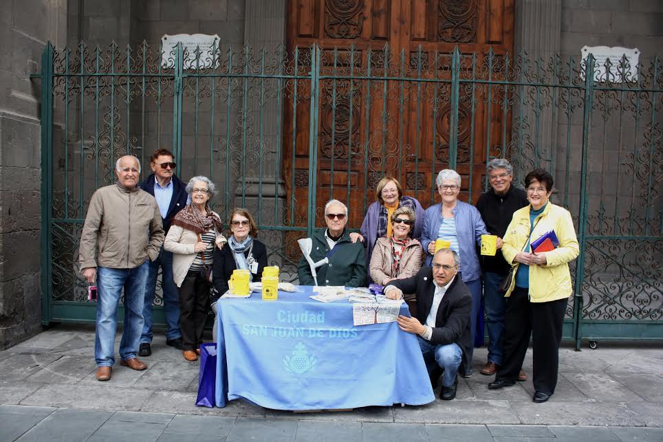 La Ciudad San Juan de Dios recauda casi 50.000 euros en Gran Canaria