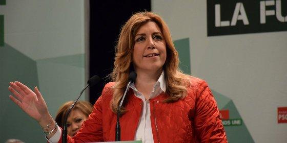 """Susana Díaz: """"Nadie va a pararle el reloj a Andalucía"""""""