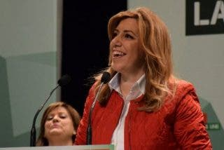 """Susana Díaz: """"El 'Doctor No' de lo que está pasando en el Parlamento es Mariano Rajoy"""""""