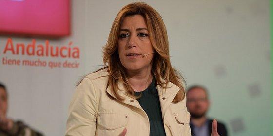 """Susana Díaz ve un """"batacazo"""" del PP por su actitud ante la investidura"""