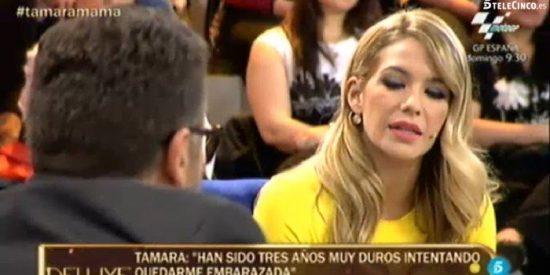 """Tamara Gorro ('MyHyV') desvela su auténtico drama en directo: """"Pensé que yo era una mierda"""""""