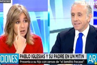 """Tania Sánchez llama """"zafio"""" a Inda y el periodista se revuelve: """"El insulto es el instrumento de los fascistas"""""""