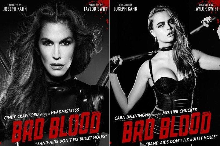Taylor Swift cierra el gran reparto de 'Bad Blood'