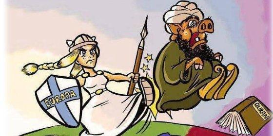 '#TexasAttack' Las caricaturas de Mahoma que enfadaron a los dos yihadistas abatidos