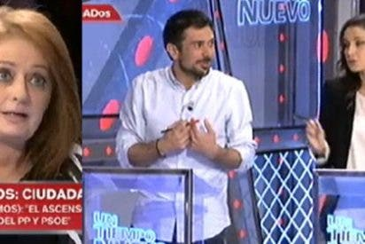 "Alicia Gutiérrez se cansa de las 'matrimoniadas' de Espinar y Arrimadas: ""Parecéis novios políticos"""