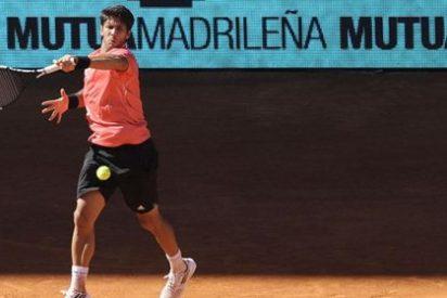 Paloma Lago acude con su novio al estreno de Verdasco en el Mutua Madrid Open