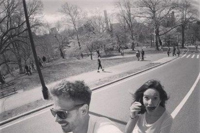 Verónica Sánchez y su pareja de viaje romántico a Nueva York