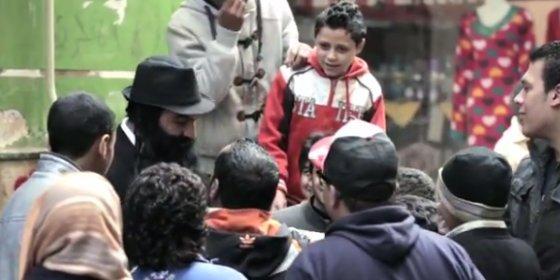La agresión al periodista egipcio disfrazado de judío en El Cairo