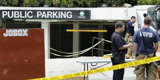 [Vídeo] Se derrumba el garaje del célebre edificio Watergate: hallan restos humanos
