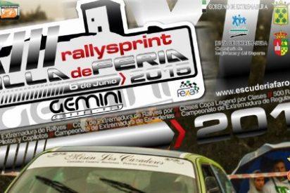 Avance del XIII Rallysprint Villa de Feria (Badajoz)