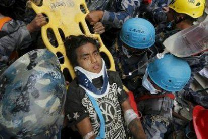 El joven de 15 años que ha estado enterrado vivo 5 días tras el terremoto